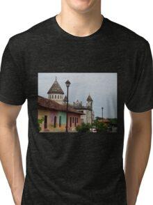 Granada, Nicaragua Tri-blend T-Shirt