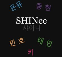 SHINee Group Name + Members by dotygonegreen