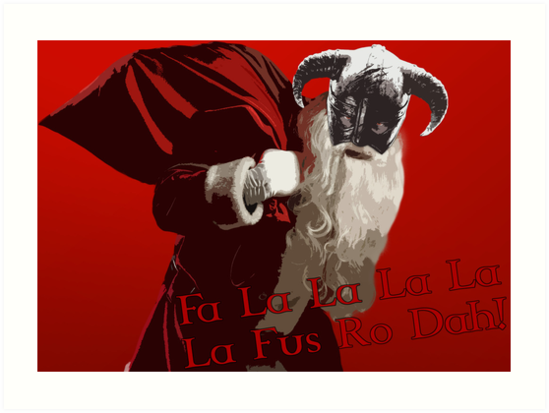 Fa La Fus Ro Dah! by Proxish