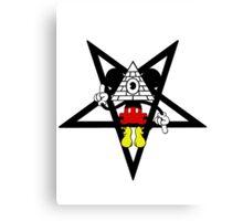 Illuminati Mickey Canvas Print