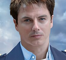 Captain Jack Harkness - Greeting Card by ifourdezign