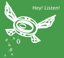 """Zelda """"Listen!"""" Fairy Baby Tee"""