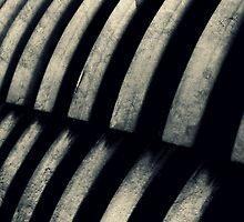 Spina Cursus (industrial spine) by Scott Mitchell