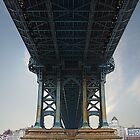 The Manhattan Bridge by Ryan Mingin