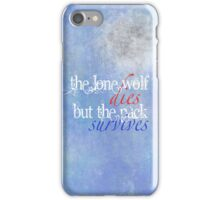 Wolf Wisdom iPhone Case/Skin