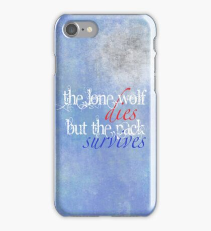Wolf Wisdom iPhone Case/Skin