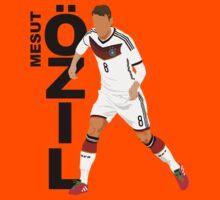 Mesut Özil - Minimalistic Design #1 by CongressTart