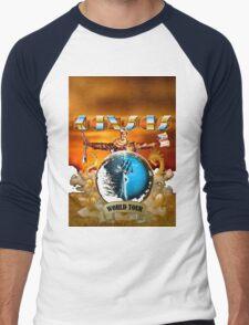 KANSAS Is A Band Tour RP2 Men's Baseball ¾ T-Shirt
