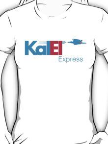 Kal El Express   Superman + Fed Ex T-Shirt