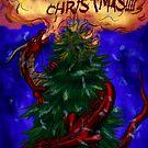 Merry Dragon Xmas by MoparPhoenix