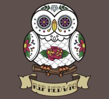 R.I.P Hedwig Sugar Skull Kids Clothes