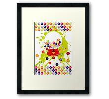 Gumball_Machine Framed Print