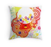 Gumball_Machine Throw Pillow
