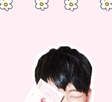 flower boy bobby version 1 Sticker
