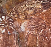 Kakadu Rock Art #4 by Natalie Ord