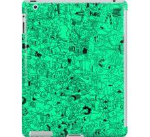 Lots of cartoons iPad Case/Skin