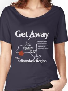 Get Away To Upstate New York Women's Relaxed Fit T-Shirt
