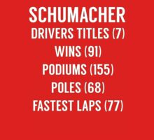 Michael Schumacher F1 stats/records  Kids Clothes