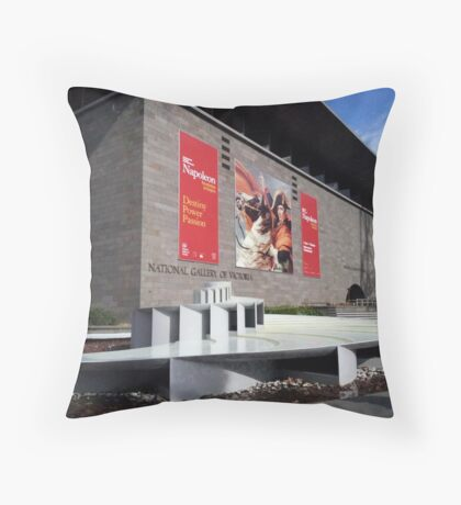 National Gallery of Victoria Throw Pillow