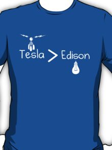 Tesla Greater Than Edison T-Shirt