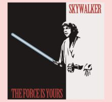 The Force Is Yours | Scarface mashup Kids Clothes