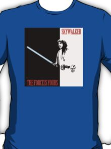 The Force Is Yours   Scarface mashup T-Shirt