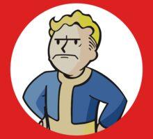 Fallout - Grumpy Vault Boy Kids Clothes