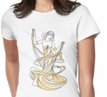 fairy girl Womens Fitted T-Shirt