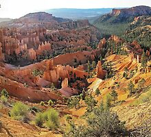Sunrise Point Panorama - Bryce Canyon, Utah, USA by TonyCrehan