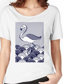 Flamingo Women's Relaxed Fit T-Shirt