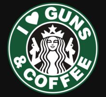 Love Guns And Coffee by goldencage