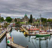 Victoria Inner Harbour by Carrie Cole