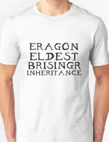The Inheritance Cycle Typography Unisex T-Shirt
