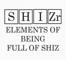 Redbubble Shizr Periodic Table Tee by raineOn