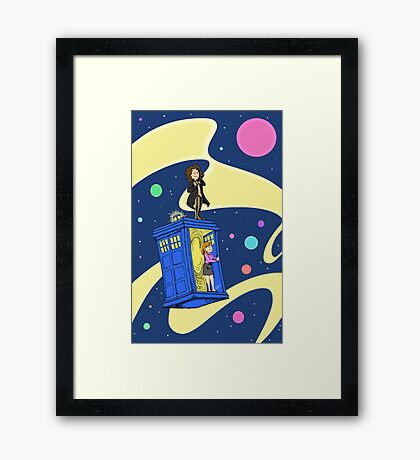 The Eighth Doctor Framed Print