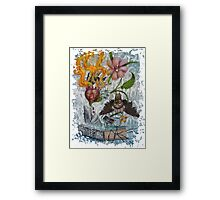 IMA SHARK!! Framed Print