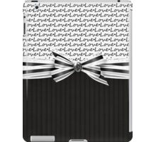 Classic Love iPad Case/Skin