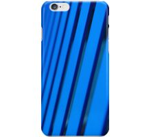 Abstract Blue Lines iPhone Case/Skin