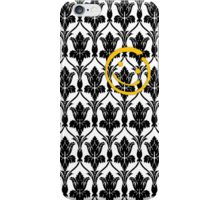 221b Baker St Wallpaper (2 of 2) iPhone Case/Skin
