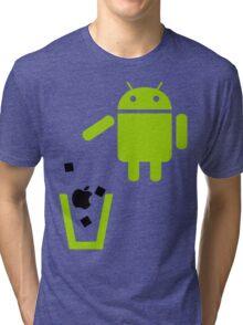 Apple is Trash!  Tri-blend T-Shirt