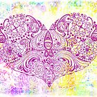 HIPPY HEART - PAISLEY by STUDIO 88 STRATFORD TARANAKI NZ
