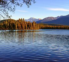 Autumn Afternoon, Lac Beauvert, Jasper Alberta Canada by bevanimage