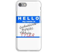 Hello My Name Is... (Option 2) iPhone Case/Skin