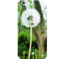 flower puff iPhone Case/Skin