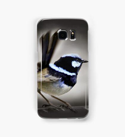 Superb Blue Fairy Wren Samsung Galaxy Case/Skin