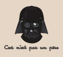 Darth Fener for Magritte by The Flaming  Potato