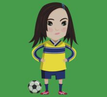 Soccer Girl Kids Clothes