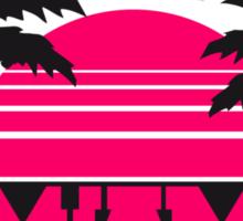 Miami Florida Palms Logo Sticker