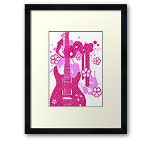 GUITAR-POP TUNES Framed Print