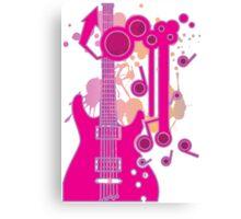 GUITAR-POP TUNES Canvas Print